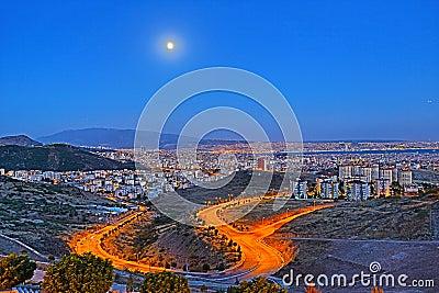 Izmir Skyline - An HDR View from Izmir
