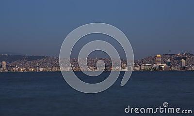 Izmir Skyline - A View from Alsancak, Izmir