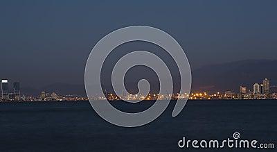 Izmir Skyline - A View from Port of Izmir