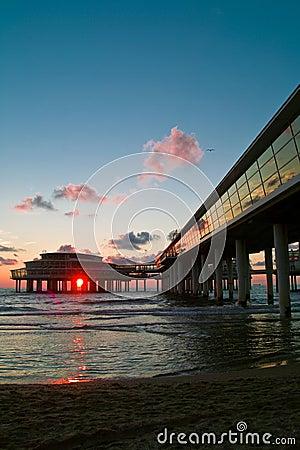Cityline bij de kust