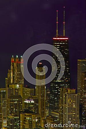 Cityscape of Chicago Illinois