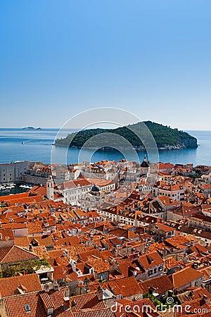 Cityscape of Dubrovnik