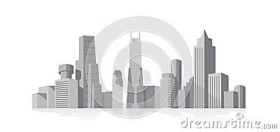 Cityscape grey