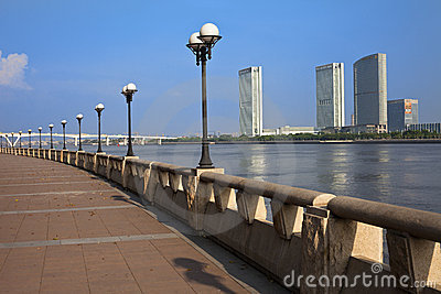Cityscape of Guangzhou City Editorial Stock Image