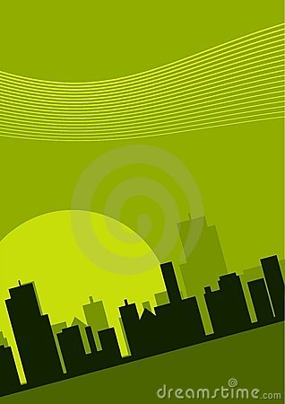 Cityscape Illustratie