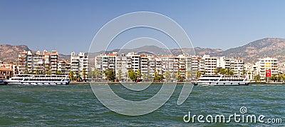 Cityscape of Karsiyaka Izmir