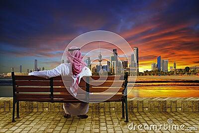 Cityscape of kuwait