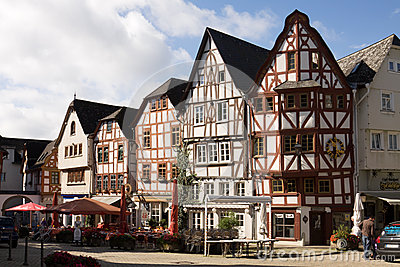 Cityscape of Limburg an der Lahn in Germany Editorial Photo