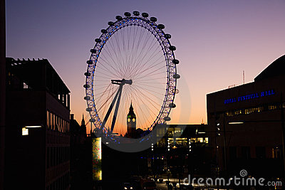 Cityscape of London Editorial Stock Photo