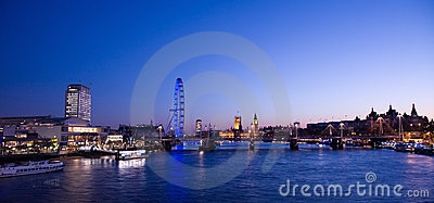 Cityscape of London Editorial Photography