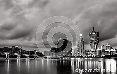 Cityscape in Macao