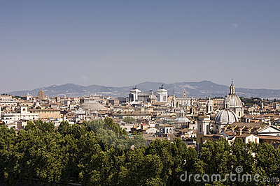 Cityscape Of Rome Royalty Free Stock Photo - Image: 17187765