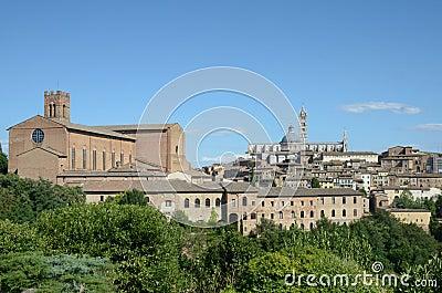 Cityscape (Siena)