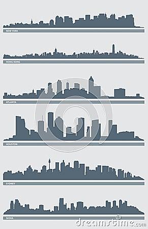 Cityscape Skyline Vector 2