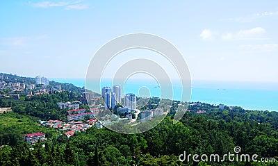 Cityscape of Sochi