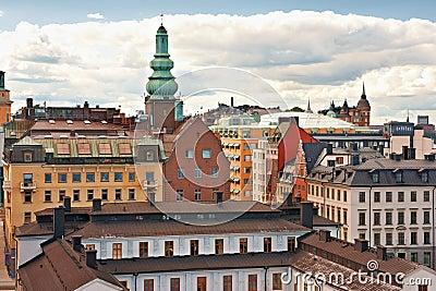 Cityscape of Stockholm. Sweden