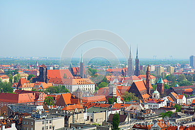 Cityscape  of Wroclaw