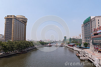 Cityscape of Zhongshan Editorial Photography