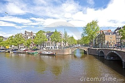 Cityscenic from Amsterdam Netherlands