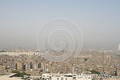 Ciudad contaminada