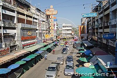 Ciudad de China, Chiang Mai Foto de archivo editorial