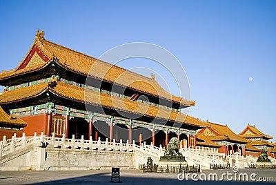 Ciudad prohibida en Pekín, China