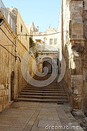 Ciudad Vieja Jerusalén Israel Foto de archivo - Imagen: 9926940