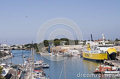 Ciutadella port Menorca Spain