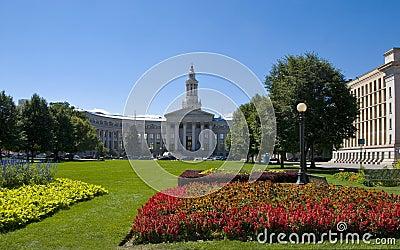 Civic Center Park in Denver, Colorado