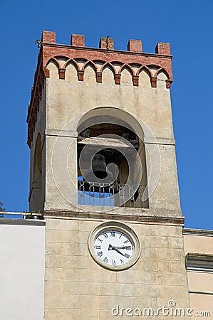Civic Tower. Castiglione del Lago. Umbria.
