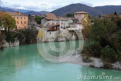 Cividale del Friuli in the Fall