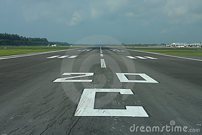 Civil airport runway