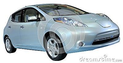 Civil car isolated