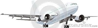 Civil plane