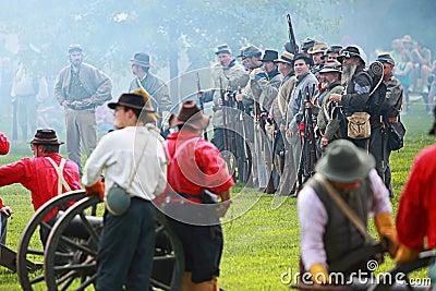Civil war Editorial Image