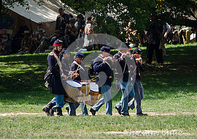 war-band-reenactment-exercise-taking-place-jackson-michigan-civil-war