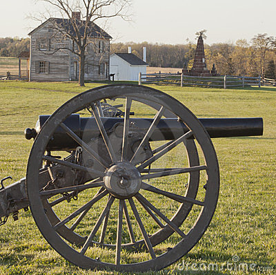 Civil War Battlefield at Manassas, Virginia