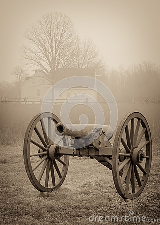 Free Civil War Cannon Royalty Free Stock Photo - 70191215