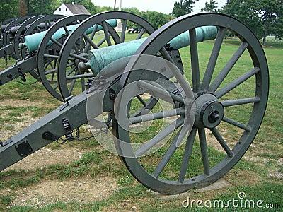 Civil War Cannons