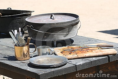 Civil War cookware