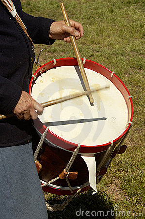 Free Civil War Drummer 1 Stock Images - 462264