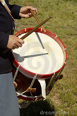 Free Civil War Drummer 2 Royalty Free Stock Photo - 462265