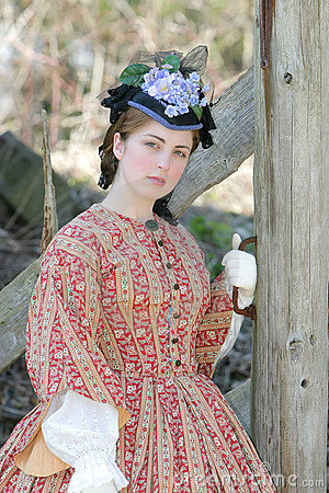 Free Civil War Era Woman Stock Photography - 4974032