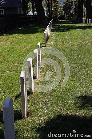 Civil War Headstones