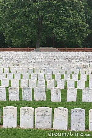 Free Civil War Headstones Stock Images - 239874