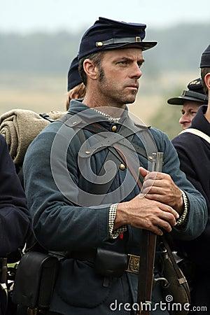 Free Civil War Reenactor Stock Photography - 20853002