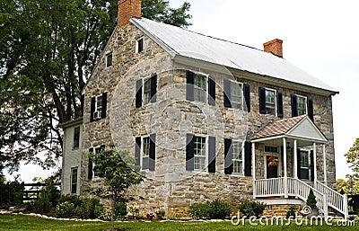 Civil War Stone House - 2