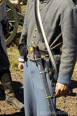 Free Civil War Uniform 1 Royalty Free Stock Images - 443939