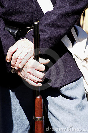 Free Civil War Uniform Detail 2 Stock Photography - 464742