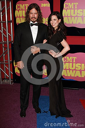 The Civil Wars at the 2012 CMT Music Awards, Bridgestone Arena, Nashville, TN 06-06-12 Editorial Stock Image